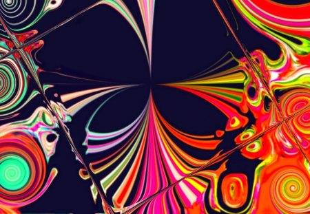 Abstract Spiral3 - b, c, a, d