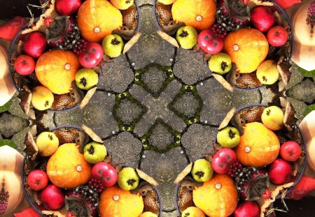 ♥      Autumn Fruits      ♥ - apples, mind teaser, pears, autumn fruits, pumkin, abstract
