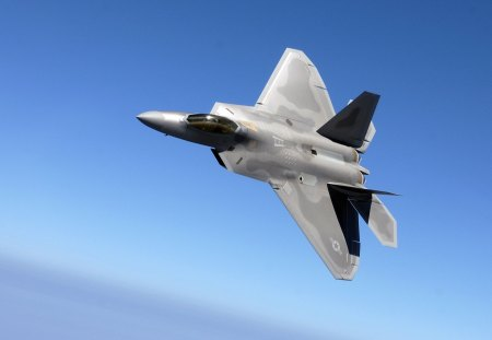 Lockheed F-22 Raptor - united states air force, jet fighters, jets, us air force