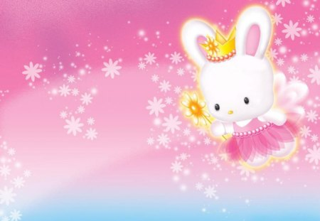 Hello Kitty Bunny Cute Anime Wallpaper