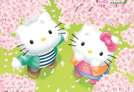 Hello Kitty Friends - Hello Kitty u0026 Anime Background Wallpapers on