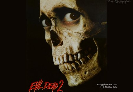 evil dead 2 poster - horror, movie, dead, evil