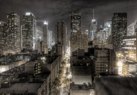 Dark Newyork City 2012 [HD] - hd, city, photography, dark, newyork, 1080p, abstract