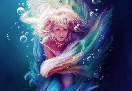 Fantasy - digital, beautiful, abstract, art