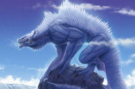 DRAGON HYBRID - hybrid, blue, dragon, new
