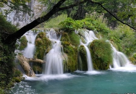 ♥Croatia Plitvice park for my dear Alan♥ - waterfalls, river, nature, paradise