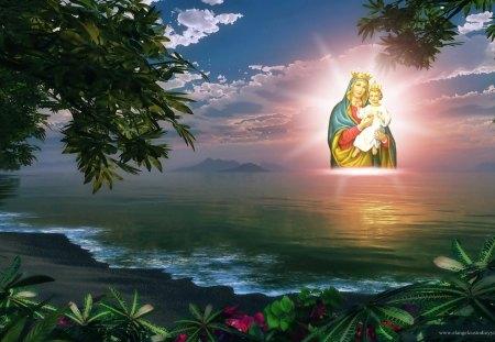 Virgin Mary - jesus, mary, god, virgin