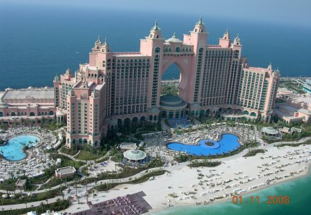 Atlantis Palm Dubai Other Architecture Background Wallpapers On