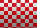 Checkered Pattern - Red