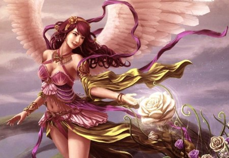 ♥beauty angel for Diane♥ - beauty, fantasy, angel, tags