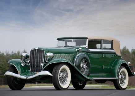 1934 Auburn Twelve Phaeton Sedan - antique, car, sedan, vintage, auburn, twelve, phaeton, 1934, old, classic, 34