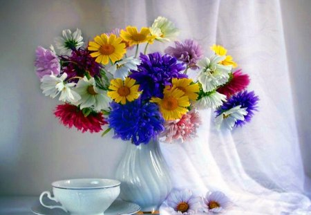 ♥flowers for my dear Monica♥ - flowers, beauty, paradise, nature