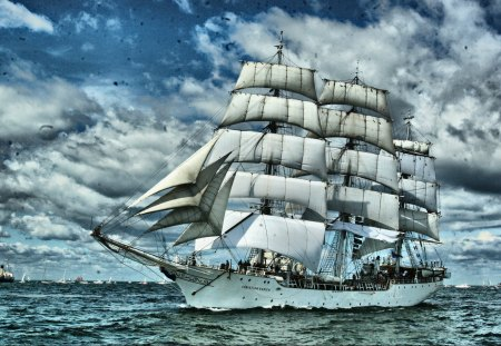 Christian Radich - tall ship races, poland, norway, baltic sea