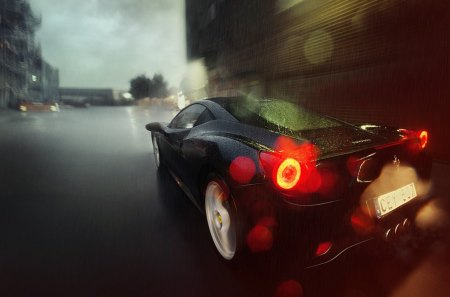 Ferrari 458 - f, cars, full hd, 458, ferrari, sports