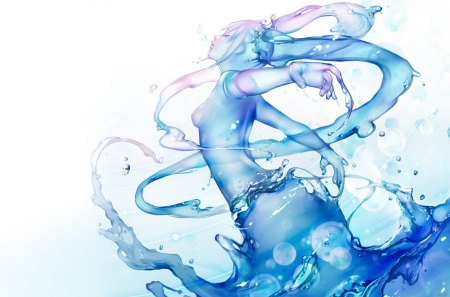 Hatsune Miku as Water Elemental - seductive girl, girls, chibi, white, anime, shy, cute, sexy, brown, orange, miku hatsune, anime girls, pretty girls, water elemental, music, breasts, hot, water, vocaloid, kawaii, indigo, kiss, cute girls, black, blush, gray, bikini, shy girl, hatsune miku, nightwear, red, sexy girls, hot girls, panty, loli, beautiful girls, singer, violet, moe, miku, elemental, bra, blue, ecchi, tagme, long hair, seductive, yellow, swimwear, yuri, beautiful, purple, hatsune, pretty, green, sexy dress, short hair, lingerie