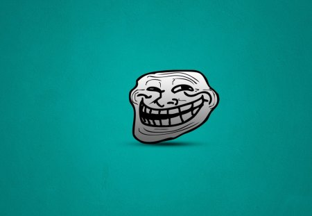 Troll Face - cg, face, troll, funny, art
