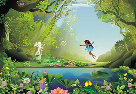 Magic Land Wonderful Days Anime Background Wallpapers On