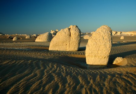 Desert Stones - sand, sinia, desert, stones