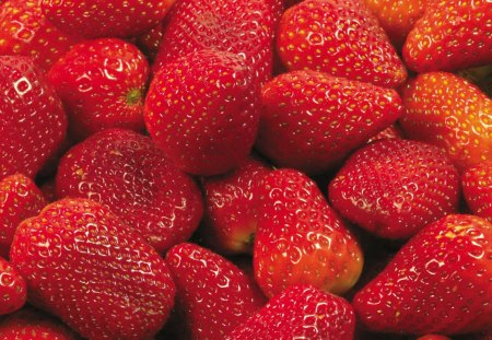 Srawberries - delicious, srawberries, nice, juicy, nature, tasty, red, fruits