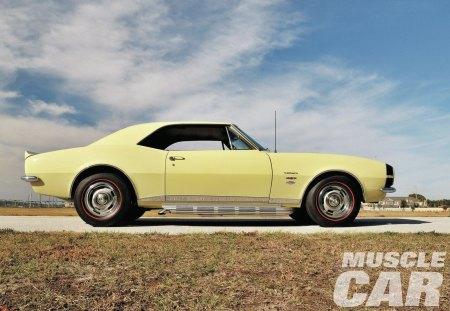'67 Yenko Camaro - classic, gm, bowtie, yellow