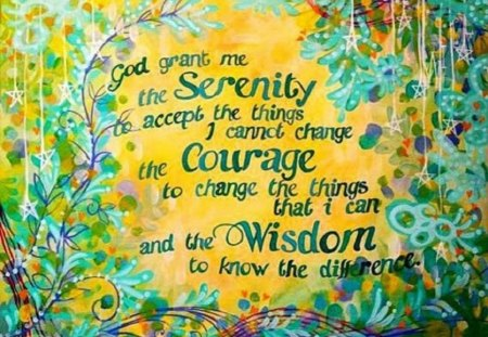 Serenity Prayer Other Abstract Background Wallpapers On