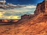 outstanding desert mesa hdr