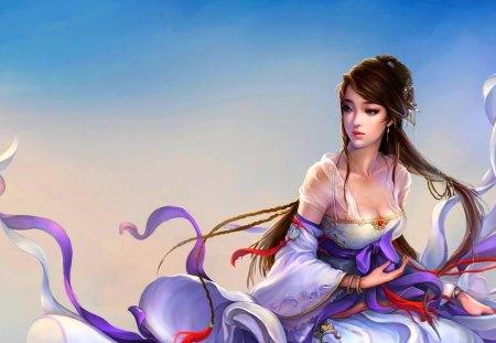 GORGEOUS PRINCESS - beauty, art, princess, angel