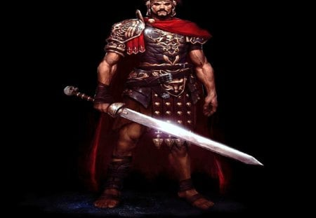 Roman Soldier Fantasy Abstract Background Wallpapers On