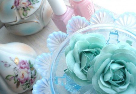 vintage - design, still life, soft colors, decoration