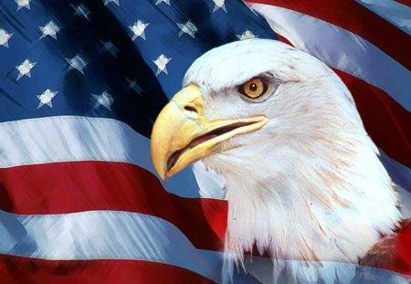American Flag - digital, beautiful, abstract, art