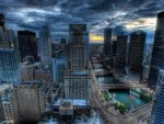 Cityscapes Chicago HDR