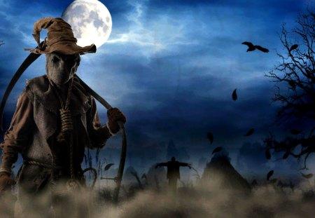 A Frightful Halloween - moonlight, spooky, halloween, frightful