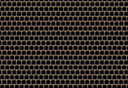 squares in color - black, squares, 22657, colored
