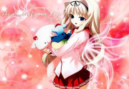 Cute Anime Girl - nice, anime, girl, cute