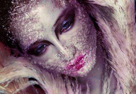 Frozen - frozen, fantasy, lady, ice