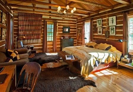 Log Cabin Bedroom Suite Other Architecture Background Wallpapers On Desktop Nexus Image 1186802