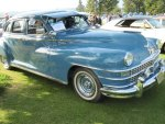 1947 Blue Chrysler