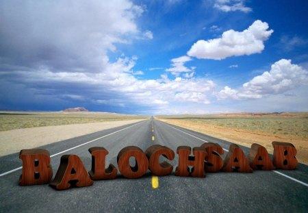 Balochsaab - balochistan, bluebird, road, irfan, baloch, sky, emirates, balochsaab, 3d, dubai, dxb, uae
