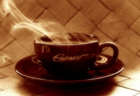 A Cup of Java - steaming, coffee, esspresso, java, hot, cup, drink, mug