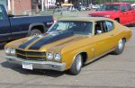 1970 Chevrolet Chevelle SS drag car
