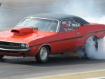 1970 Dodge Challenger R/T drag car
