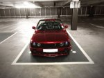 BadBoy Bonnet Calypso Red BMW E30 PAR