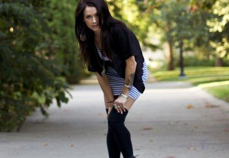 Megan - beautiful, model, megan, girl, blong hair, brunette, lyn