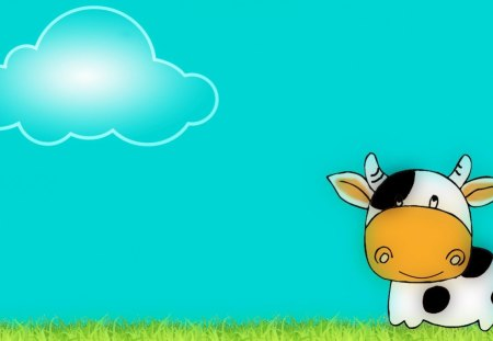 Milly The Moo Cow Wallpaper Cows Animals Background Wallpapers