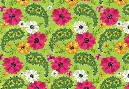 Pattern - cg, pattern, texture, flower