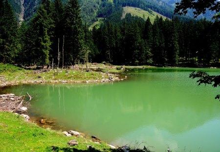 SCHWARZEN-SEE  AUSTRIA - water, lakes, sea, see