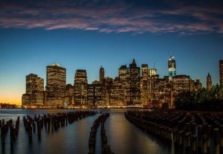 Beautiful New York City Sunset Sunsets Nature Background Wallpapers On Desktop Nexus Image 1188791