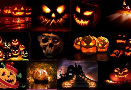 Halloween - scary, jack o lantern, pumpkin, halloween