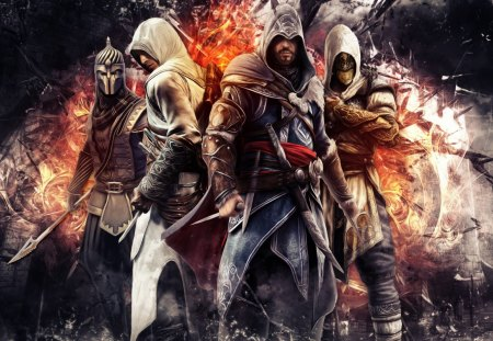 Assassin's Creed Ezio & Altair Epic! - mame, meyu, mufe, ac