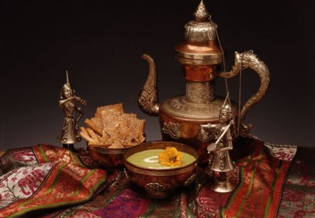 TREASURES OF INDIA - scarves, sweets, food, copper, antiques, silk, linens, gold, artifacts
